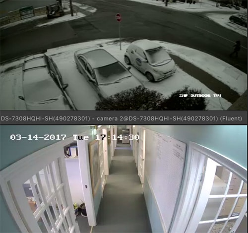 continuous video monitoring