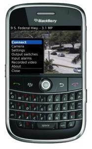 watch security cameras blackberry