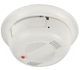 SMOKE DETECTOR CAMERA AND MICROPHONE