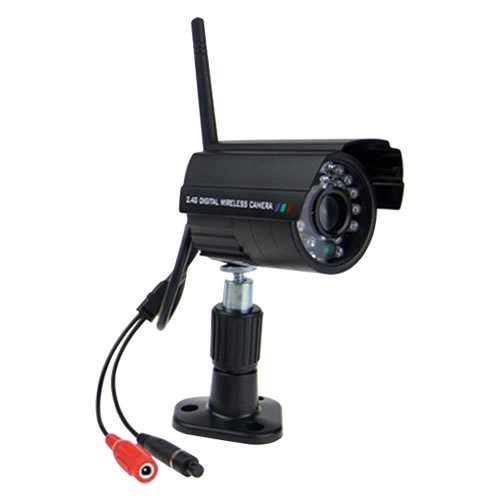 2.4GHz IR Night Vision Waterproof Wireless Digital Security Camera