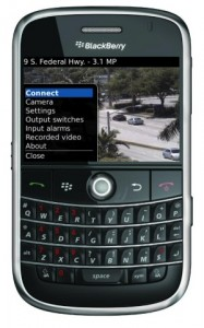 watch security cameras blackberry